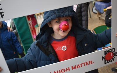 Such fun on Comic Relief Day