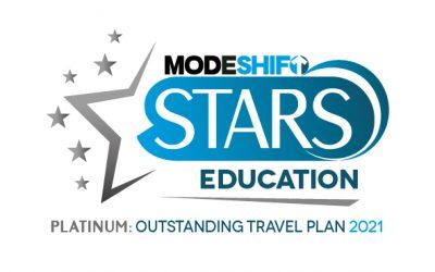 Platinum Modeshift Stars Award